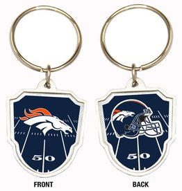 Denver Broncos Home Field Key Ring