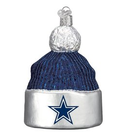 OLD WORLD CHRISTMAS Dallas Cowboys Beanie Ornament