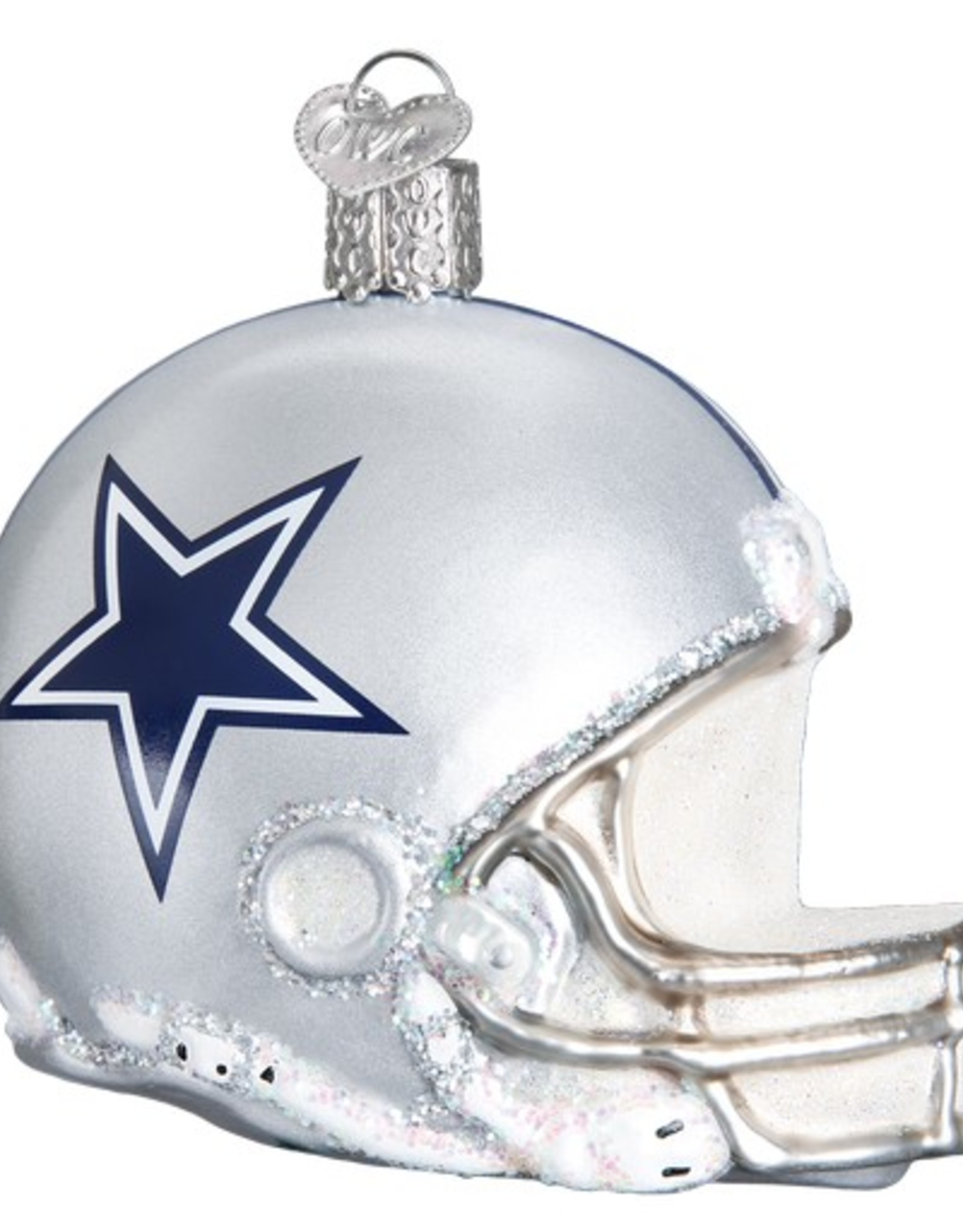 OLD WORLD CHRISTMAS Dallas Cowboys Helmet Ornament