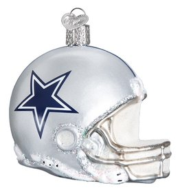 OLD WORLD CHRISTMAS Dallas Cowboys Helmet Ornament