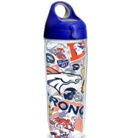 Denver Broncos Tervis All Over Print Sport Bottle