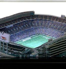 HOMEFIELDS Denver Broncos 19IN Lighted Replica Mile High Stadium
