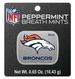 Denver Broncos Breath Mints Tin