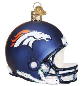 OLD WORLD CHRISTMAS Denver Broncos Helmet Ornament