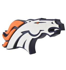 Denver Broncos 3D Foam Logo Sign