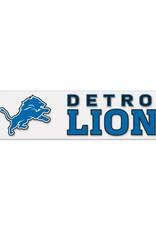 "WINCRAFT Detriot Lions 4""x17"" Perfect Cut Decals"