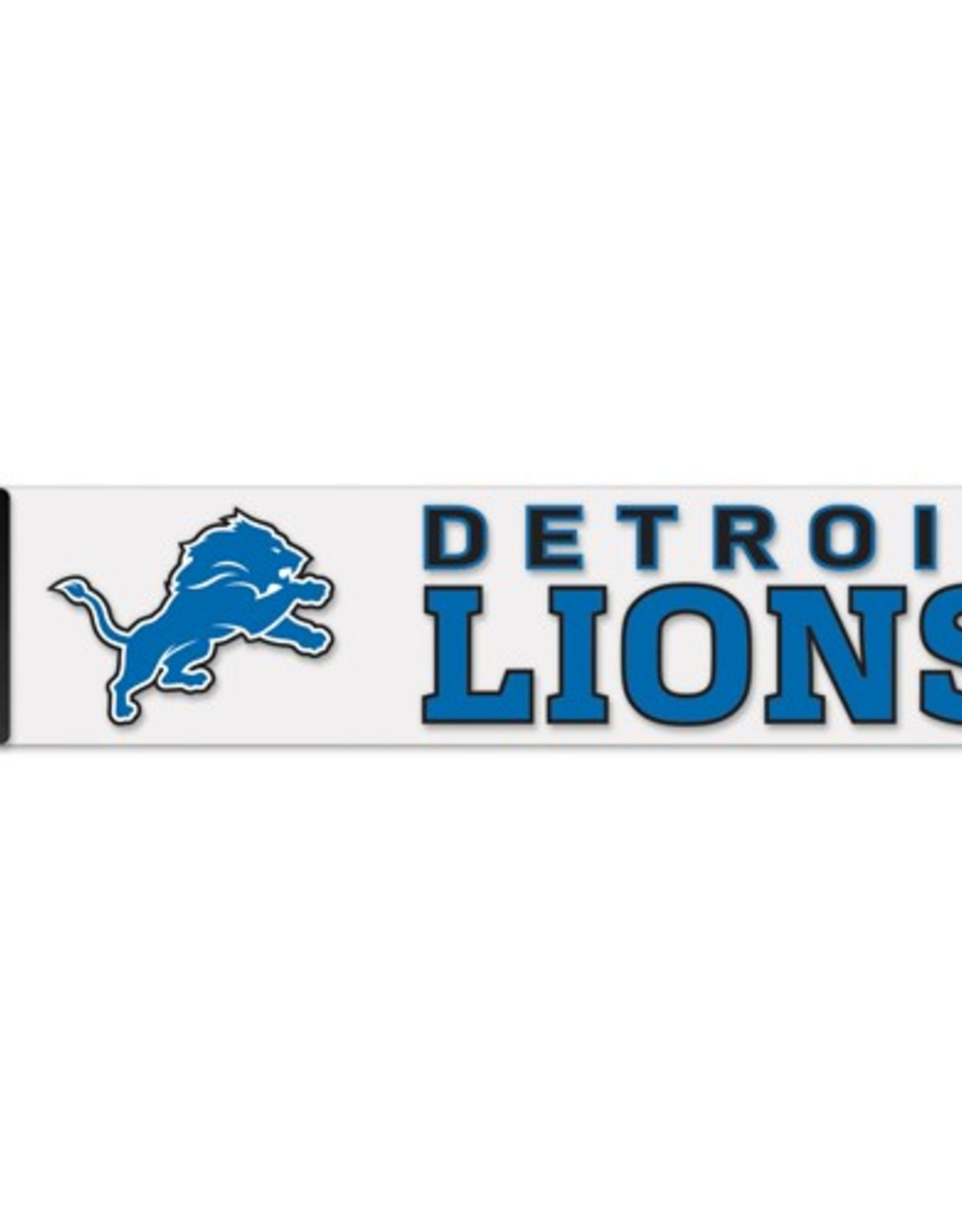 "WINCRAFT Detriot Lions 4""x17"" Perfect Cut Decals"