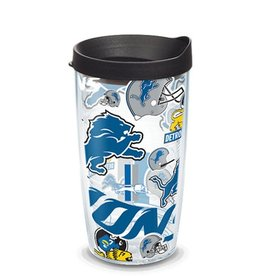 Detriot Lions 16oz Tervis All Over Print Tumbler