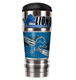 GREAT AMERICAN PRODUCTS Detriot Lions 18oz The MVP Stainless Tumbler