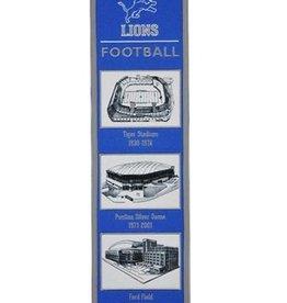 Detriot Lions Stadium Heritage Banner