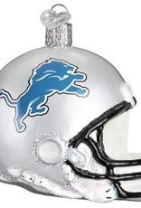 OLD WORLD CHRISTMAS Detriot Lions Helmet Ornament