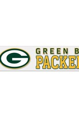 "WINCRAFT Green Bay Packers 4""x17"" Perfect Cut Decals"