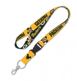 Green Bay Packers Disney Mickey Mouse Lanyard