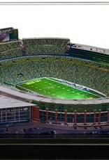 HOMEFIELDS Green Bay Packers 13IN Lighted Replica Lambeau Field