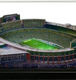 HOMEFIELDS Green Bay Packers 13IN Lighted Replica Lambeau Field