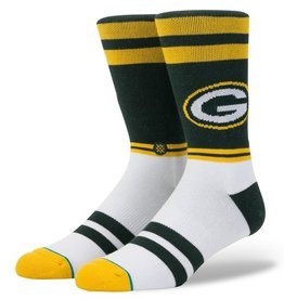 STANCE Green Bay Packers Logo Crew Socks
