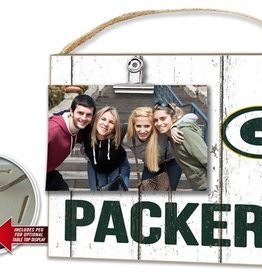 KINDRED HEARTS Green Bay Packers Clip It Photo Frame