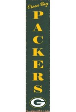 RUSTIC MARLIN Green Bay Packers Vertical Rustic Sign