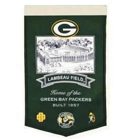 Green Bay Packers Lambeau Field Stadium Banner