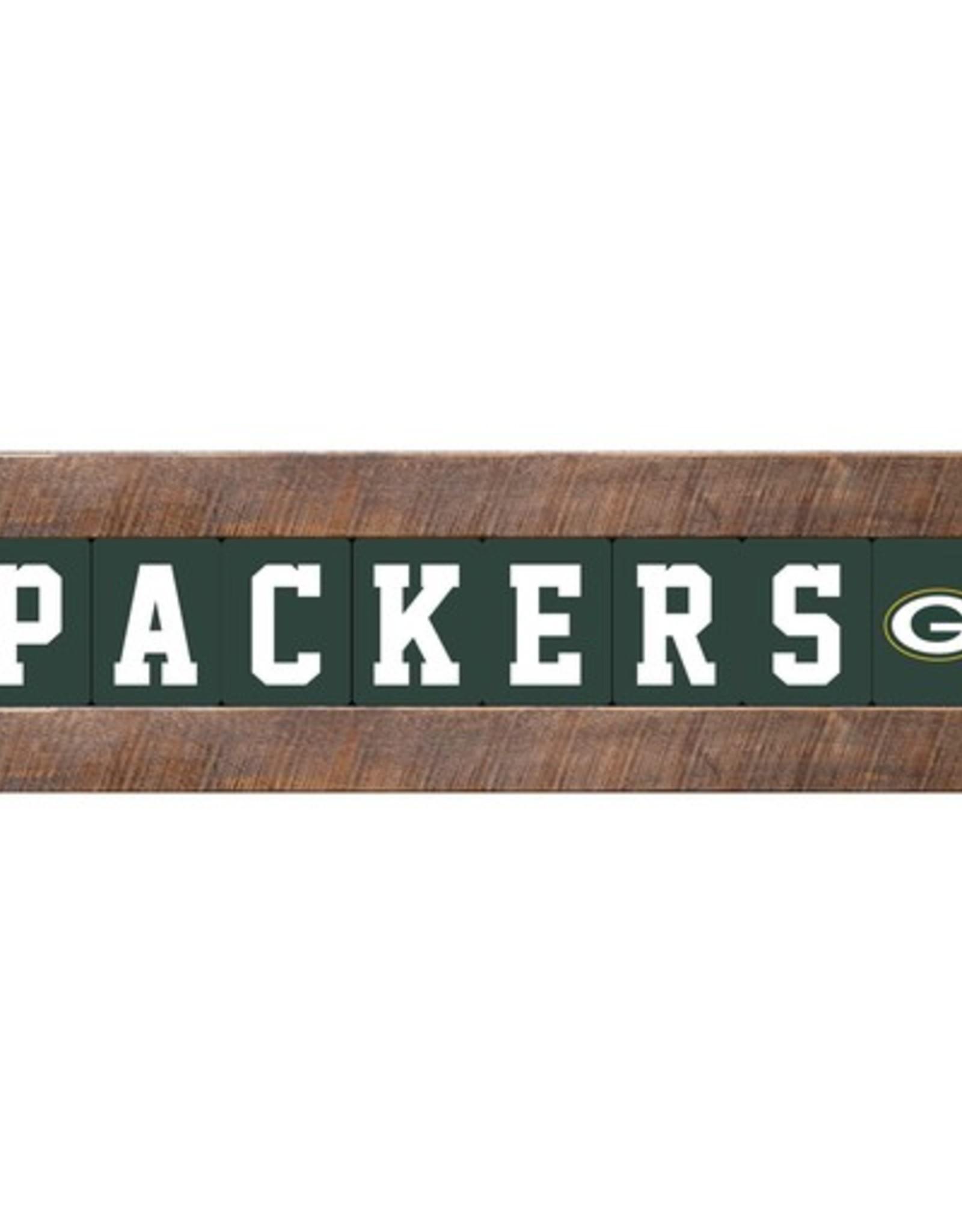 RUSTIC MARLIN Green Bay Packers Marlin Classic Wood Sign