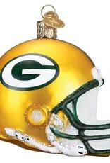 OLD WORLD CHRISTMAS Green Bay Packers Helmet Ornament