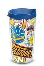 TERVIS Golden State Warriors 16oz Tervis All Over Print Tumbler