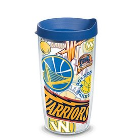 Golden State Warriors 16oz Tervis All Over Print Tumbler