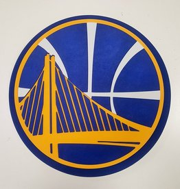 Golden State Warriors 3D Foam Logo Sign