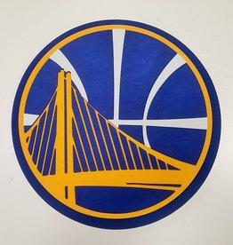 Golden State Warriors 3D Foam Logo Sign