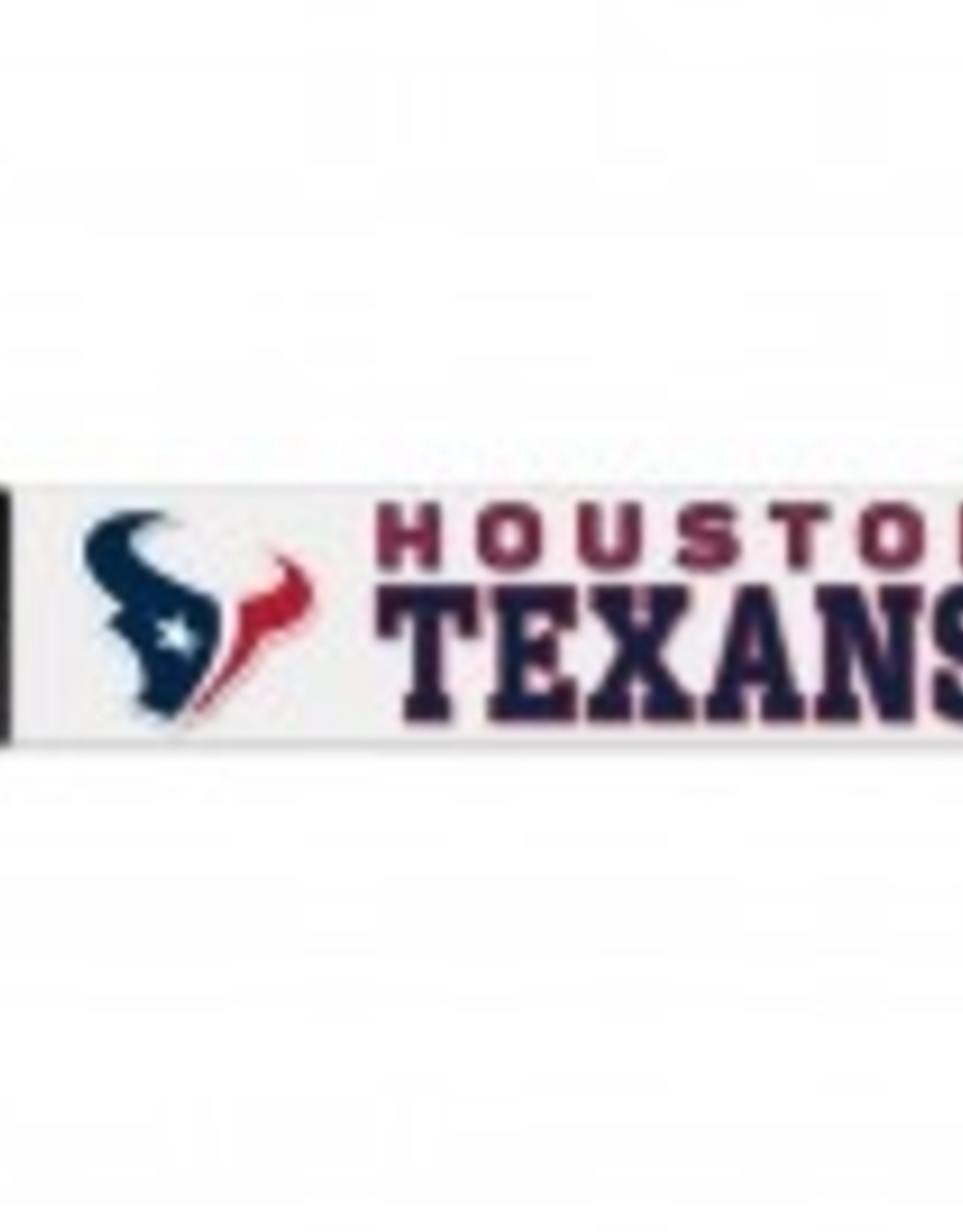 "WINCRAFT Houston Texans 4""x17"" Perfect Cut Decals"