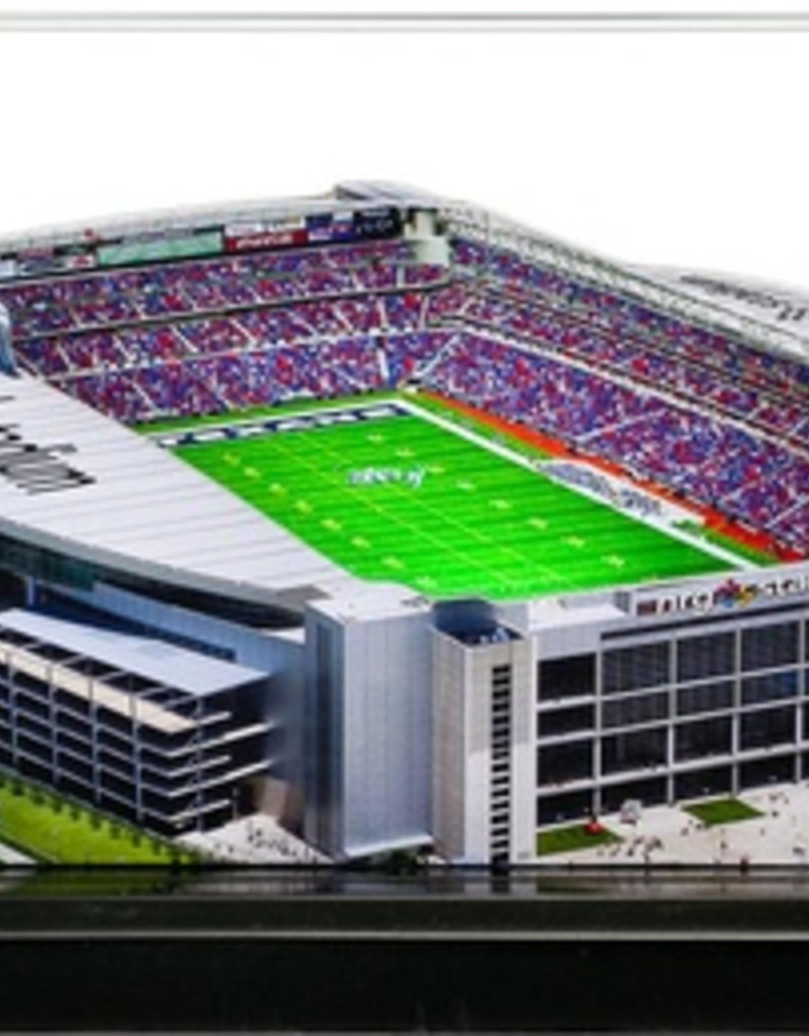 HOMEFIELDS Houston Texans 9in Lighted Replica NRG Stadium