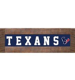 RUSTIC MARLIN Houston Texans Marlin Classic Wood Sign