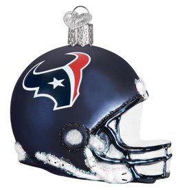 OLD WORLD CHRISTMAS Houston Texans Helmet Ornament