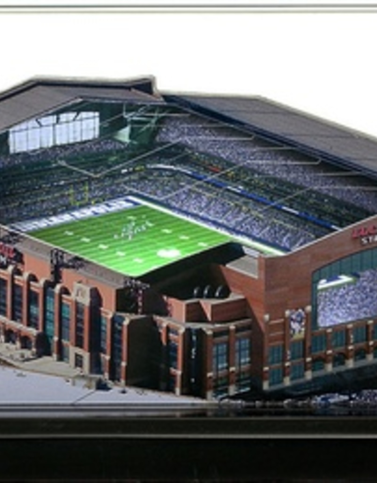 HOMEFIELDS Indianapolis Colts 13IN Lighted Replica Lucas Oil Stadium