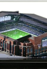 HOMEFIELDS Indianapolis Colts 19IN Lighted Replica Lucas Oil Stadium