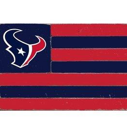 RUSTIC MARLIN Houston Texans Rustic Team Flag