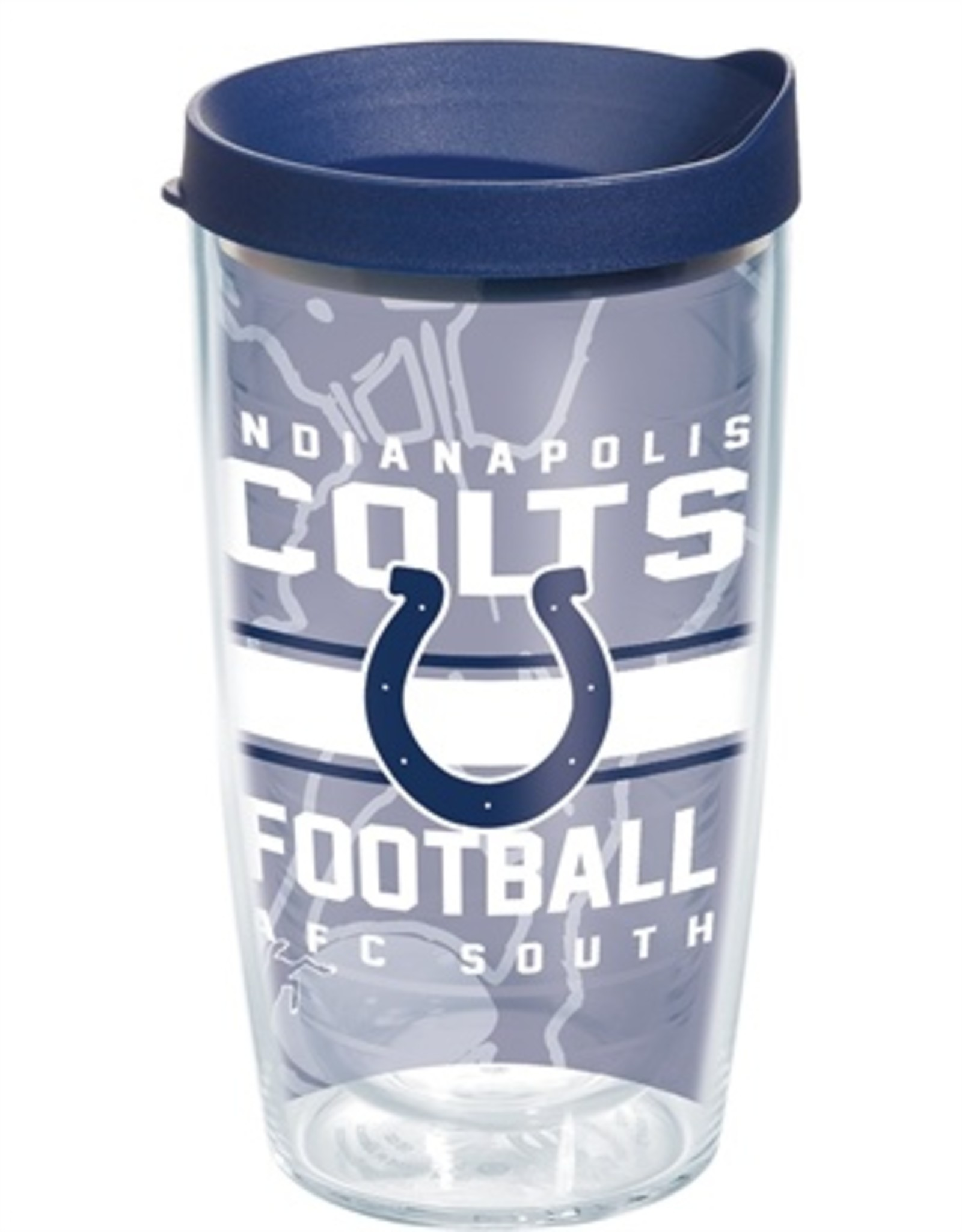 TERVIS Indianapolis Colts 16oz Tervis Gridiron Print Tumbler
