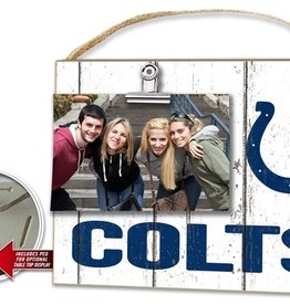 KINDRED HEARTS Indianapolis Colts Clip It Photo Frame