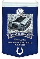 Indianapolis Colts Lucas Oil Stadium Banner