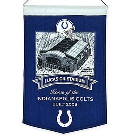 Indianapolis Colts Lucas Oil Stadium Banner