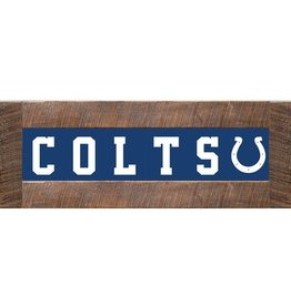 RUSTIC MARLIN Indianapolis Colts Marlin Classic Wood Sign