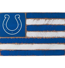 RUSTIC MARLIN Indianapolis Colts Rustic Team Flag