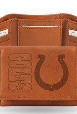 RICO INDUSTRIES Indianapolis Colts Genuine Leather Vintage Trifold Wallet