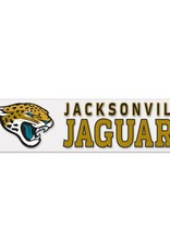 "WINCRAFT Jacksonville Jaguars 4""x17"" Perfect Cut Decals"
