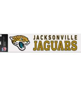 "WINCRAFT Jacksonville Jaguars 4""x17"" Perfect Cut Decals"