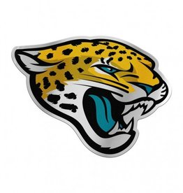 Jacksonville Jaguars Laser Cut Auto Badge Decal