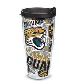 Jacksonville Jaguars 24oz Tervis All Over Print Tumbler