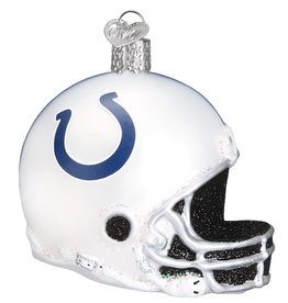 OLD WORLD CHRISTMAS Indianapolis Colts Helmet Ornament