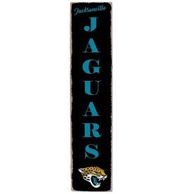 RUSTIC MARLIN Jacksonville Jaguars Vertical Rustic Sign