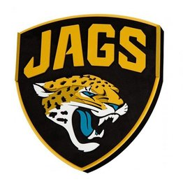 Jacksonville Jaguars 3D Foam Logo Sign
